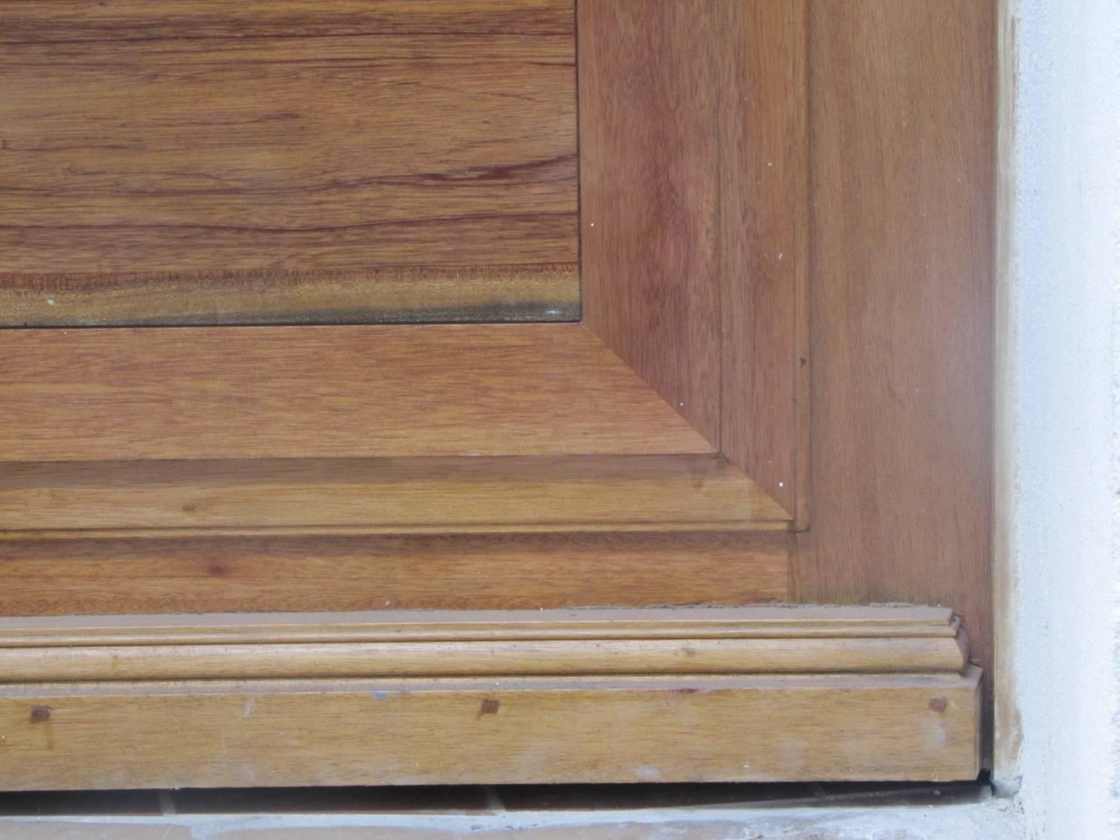 fabrication d 39 une porte d 39 entr e de style grand cadre marseille artisan menuisier. Black Bedroom Furniture Sets. Home Design Ideas